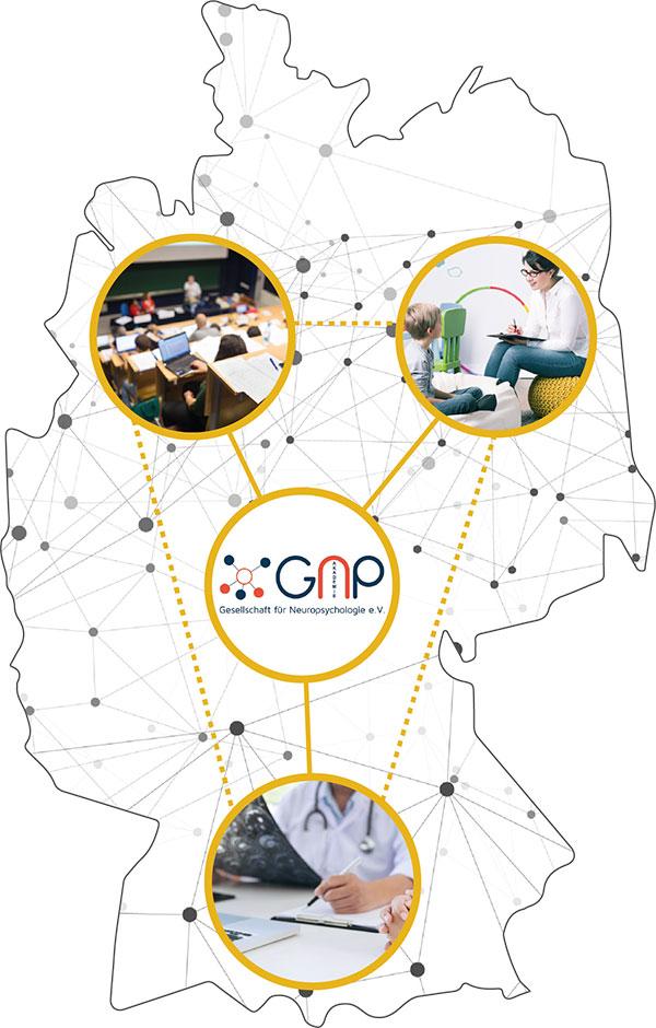 Deutschlandkarte GNP Akademie
